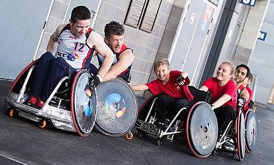 grant awarded to fund wheelchair rugby growth across wales