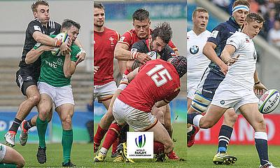 Ireland v New Zealand, Wales v Georgia and England v Scotland