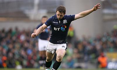 Greig Laidlaw kicked four late penalties to hand Scotland victory in Tokyo
