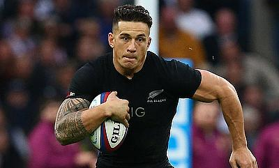 Sonny Bill Williams is expected to be on the sidelines for between six and nine months