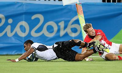 Fiji put seven tries past Britain in a ruthless one-sided demolition