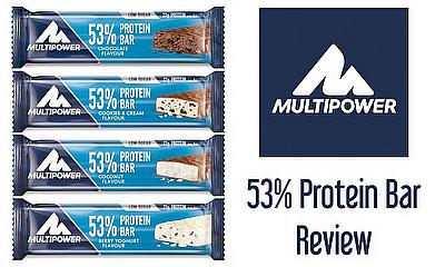 Multipower's new 53% protein bar