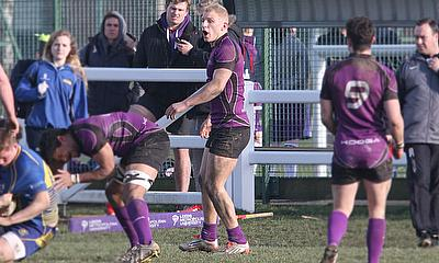 Lewis Jones in action for Leeds Beckett