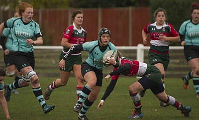 Worcester Valkyries in action