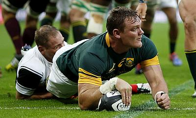 Roelof Smit suffered an arm injury in training