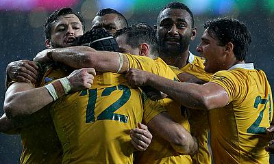 Scotland will be on a revenge mission following Australia's World Cup quarter-final win, pictured
