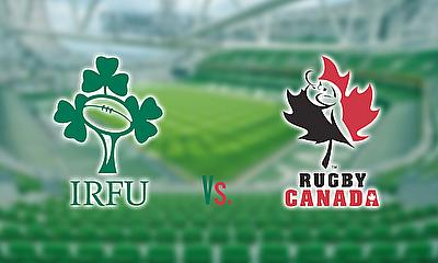 Ireland take on Canada at the Aviva Stadium, Dublin
