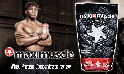 Maro Itoje and Maximuscle