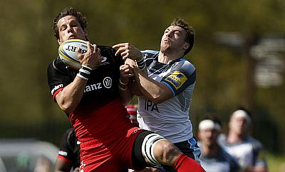Newcastle's Craig Willis has been charged with a tip tackle against Saracens