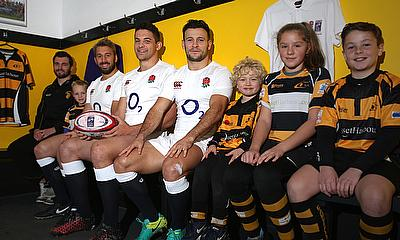 Danny Care working with the Natwest Rugby Force