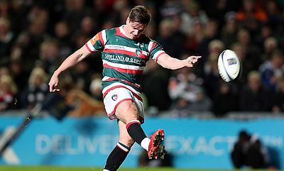 Freddie Burns booted 11 points in Leicester's victory