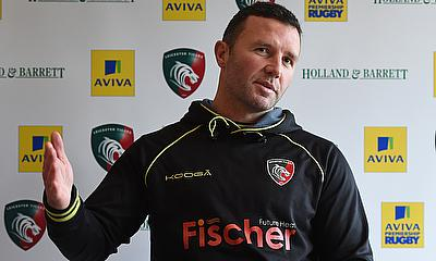 Leicester head coach Aaron Mauger will remain in interim charge until the end of the season