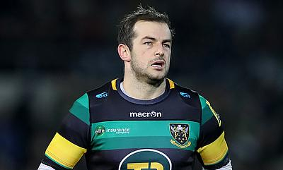 Stephen Myler kicked nine points for Northampton Saints