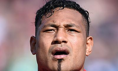 Sonatane Takulua, pictured playing for Tonga, scored two penalties and a conversion for Newcastle