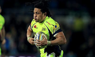 TJ Ioane suffered a potential head problem in the 30th minute of Sale's 29-26 league defeat at Harlequins