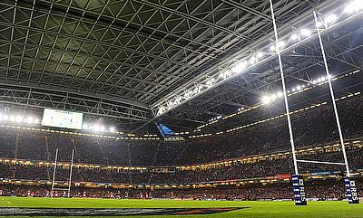 The home of Welsh Rugby, the Pricipality Stadium
