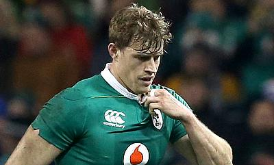 Andrew Trimble gas suffered a hand injury
