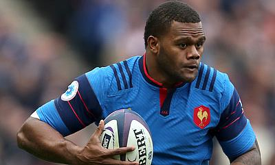 Virimi Vakatawa scored a try on his return to the France team