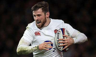England's Elliot Daly remains in contention to face Ireland