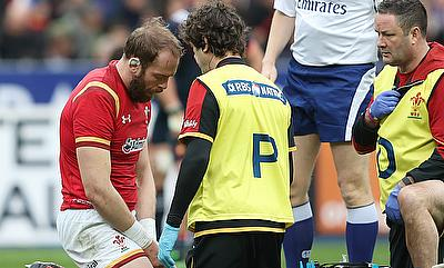Wales captain Alun Wyn Jones is set for a six-week layoff