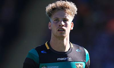 Harry Mallinder scored 16 points for Northampton Saints