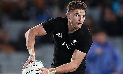 Beauden Barrett scored 24 points as New Zealand ran riot against Samoa