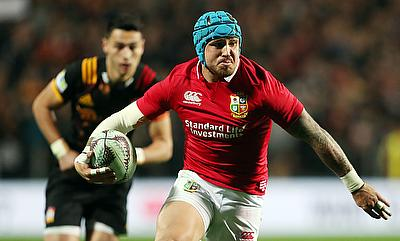 Jack Nowell got himself on the scoreboard after a much improved performance