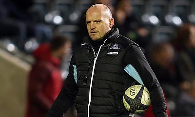Gregor Townsend threw a supportive arm around his Scotland players