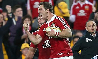 George North was on the scoresheet when the British and Irish Lions thrashed Australia 41-16 four years ago
