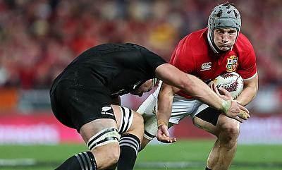 Jonathan Davies put in an impressive performance for the Lions