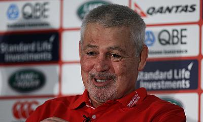 Warren Gatland led the British and Irish Lions in 2013 and 2017