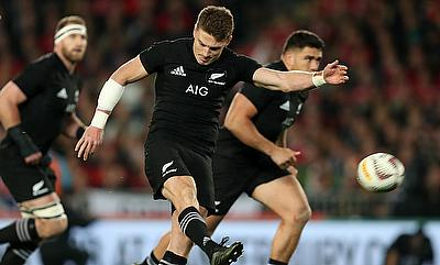 New Zealand's Beauden Barrett was impressive