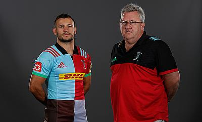 Danny Care and John Kingston during the launch