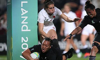 Toka Natua scored a hat-trick of tries for New Zealand against England in the Women's World Cup final