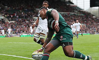 Manu Tuilagi opened the scoring for Leicester but was on the losing side against Bath