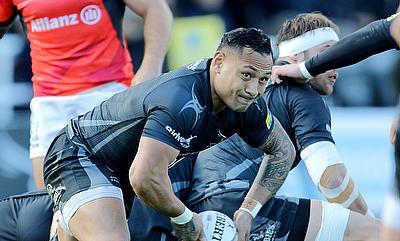 Sonatane Takulua helped the Falcons get back into the match at the AJ Bell Stadium