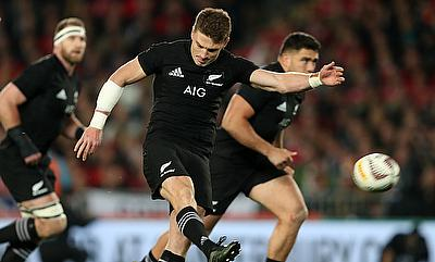 Beauden Barrett had a mixed night against Argentina