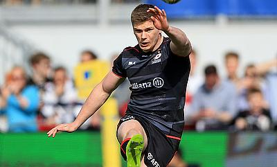 17 points from fly-half Owen Farrell carried Sarries to the win