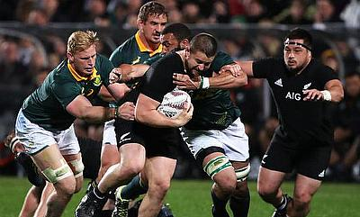Dane Coles on the charge
