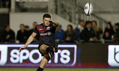 Owen Farrell kicked four conversions and a penalty for Saracens
