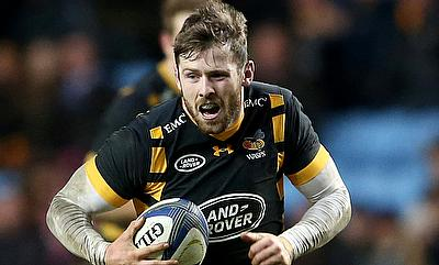 England's Elliot Daly suffered an injury on Wasps duty