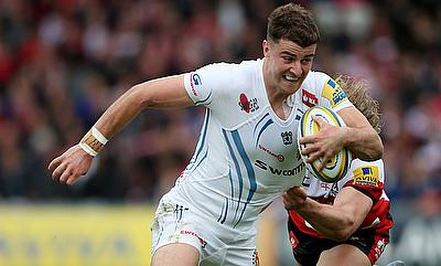 Ollie Devoto was on the winning side as Exeter routed Scarlets at Llanelli