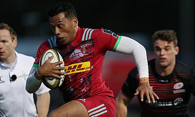 Harlequins' Alofa Alofa scored a try in the Anglo-Welsh Cup win over Worcester