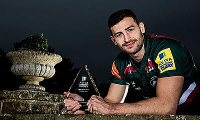 Aviva Premiership Rugby Player of the Month for October is Leicester Tigers' Jonny May