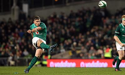Ireland's Ian Keatley kicked two vital penalties