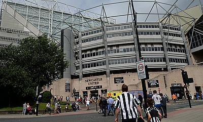Newcastle Falcons to play at St James' Park