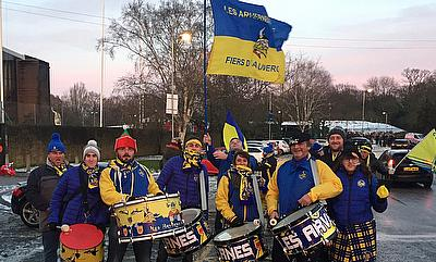 Clermont Auvergne fans were rewarded for their patience