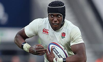 England's Maro Itoje looks set to recovery from his injury in time for the NatWest 6 Nations
