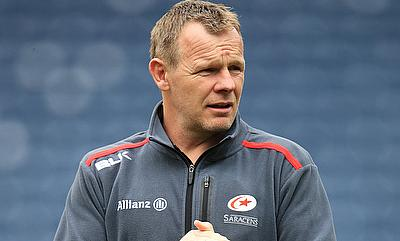 Saracens rugby director Mark McCall, pictured, has recruited scrum-half Nic Stirzaker on a short-term deal