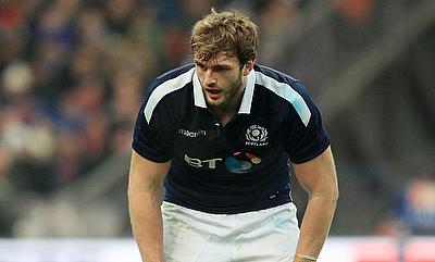 Richie Gray will miss Scotland's clash with Wales on Saturday through injury